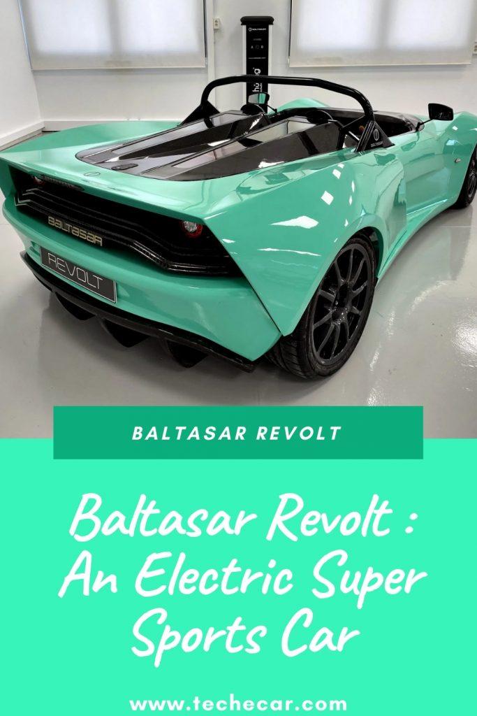 Baltasar Revolt : An Electric Super Sports Car