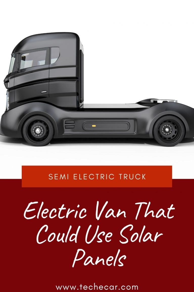 Electric Van That Could Use Solar Panels
