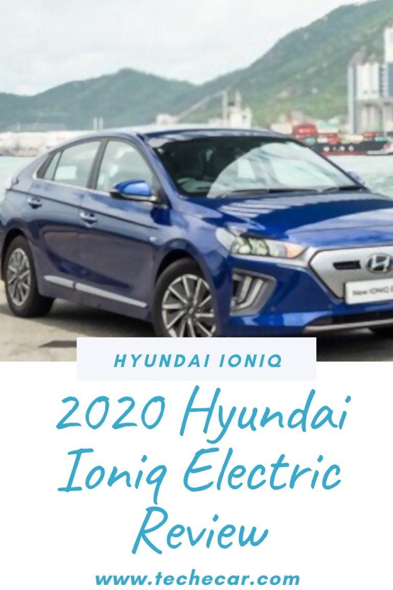 2020 Hyundai Ioniq Electric Review