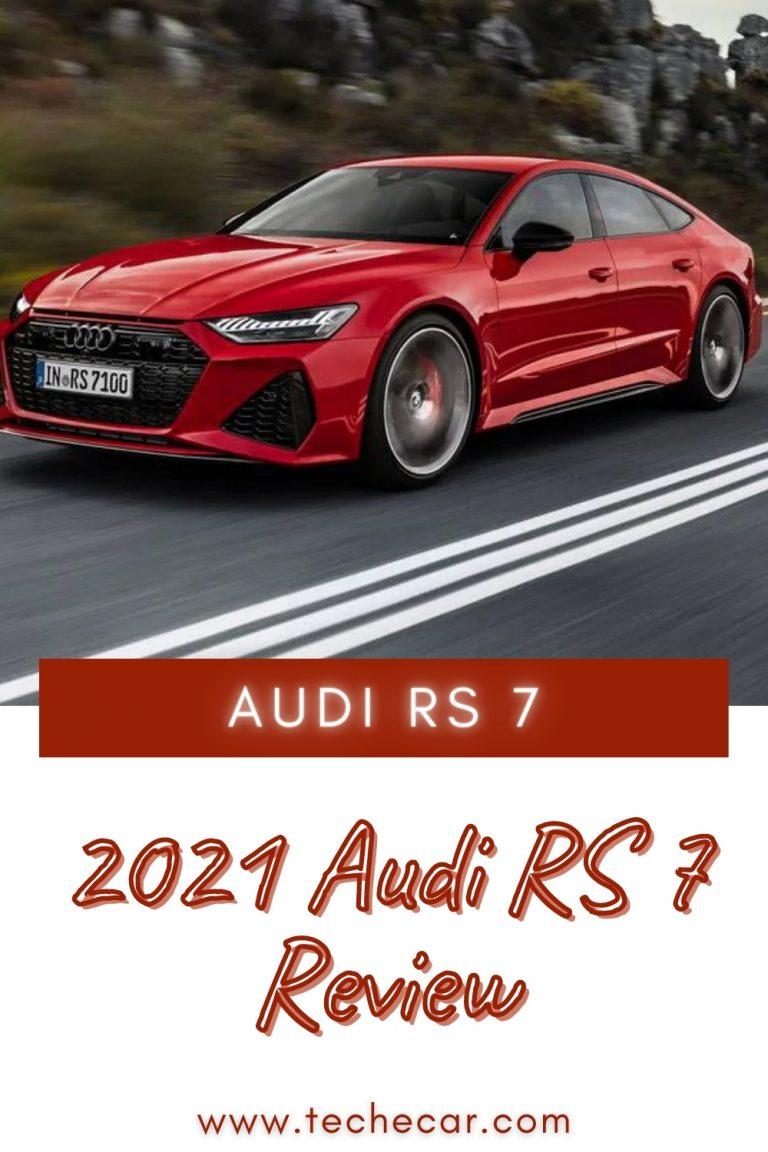 2021 Audi RS 7 Review