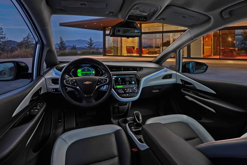 What is the inside 2021 Chevrolet Bolt EV