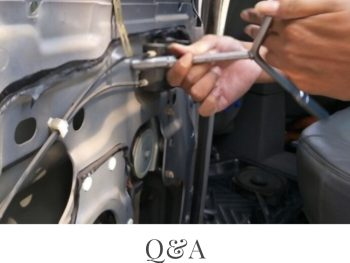 how to fix electric car window